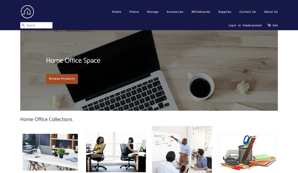 Home Office Space Website